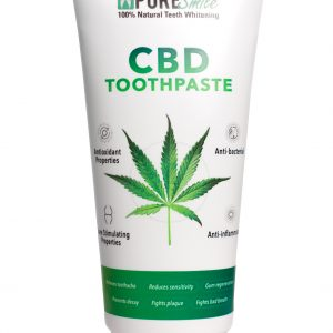 CBD TEETH WHITENING TOOTHPASTE